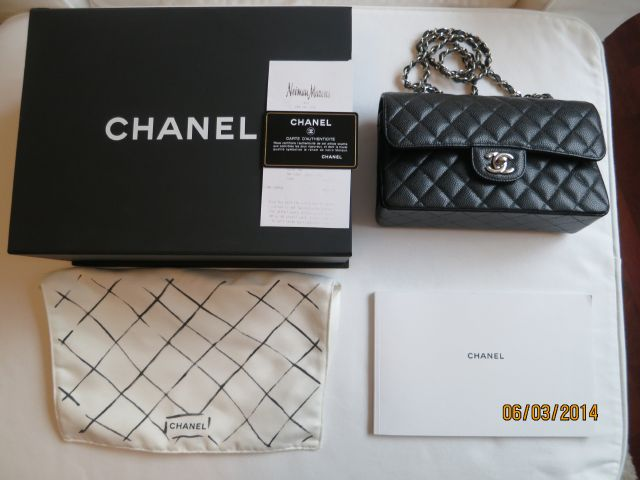 Chanel Small Classic Flap Caviar SHW_021.JPG